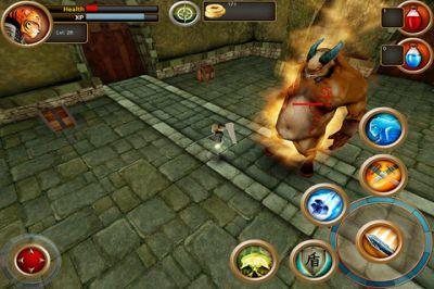 Samurai Tiger - РПГ с хорошей 3D графикой.