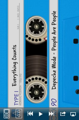 DeliTape - Deluxe Магнитофон в стиле 90х