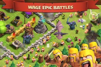 Clash of Clans  - сражаемся в хорошей стратегии для iPhone