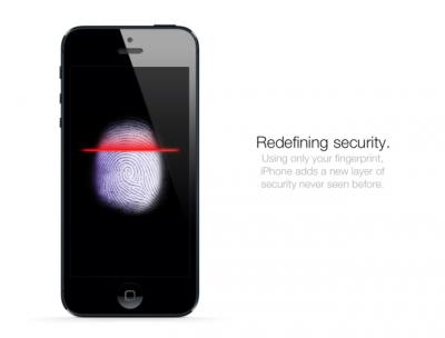У iPhone 5S будет сканер отпечатков пальцев
