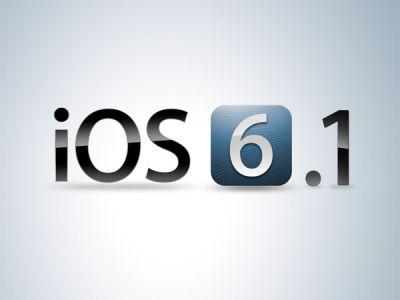 """Apple обновила мобильную """"операционку"""" до версии 6.1"""