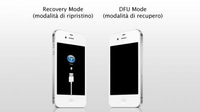 Вводим iPhone в режим DFU