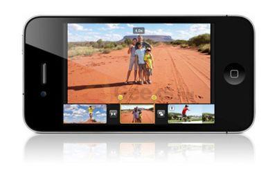 Программа  iMovie для iPhone / iPod Touch