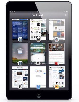 Концепция браузера Safari в iOS 7