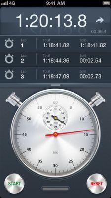 Секундомер+ для iPhone