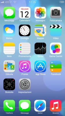 iOS 7 - тема для iPhone 5