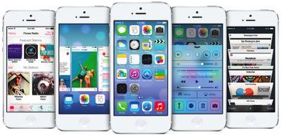 iOS 7 beta значительно популярнее iOS 6