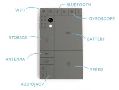 Идея смартфона конструктора