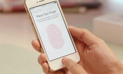 iPhone 5S не сохраняет текстуру отпечатков пальцев