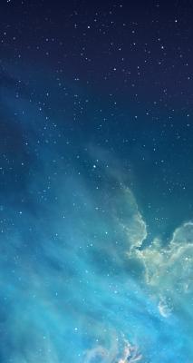 Обои из iOS 7 GM