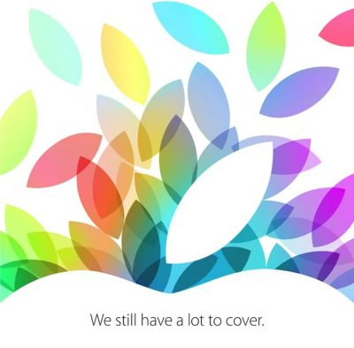 Компания Apple назвала дату презентации iPad 5 и iPad mini 2