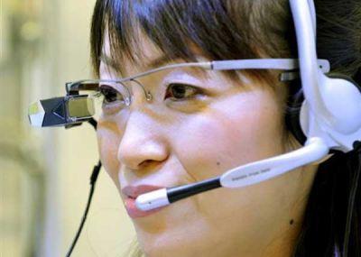 В Японии для посетителей грядущей Олимпиады хотят сделать особые очки-гиды