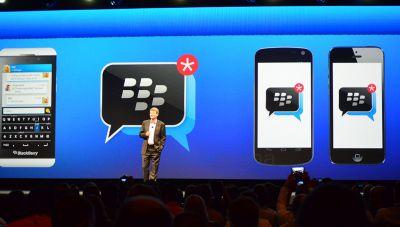 Мессенджер BlackBerry для iOS и Android