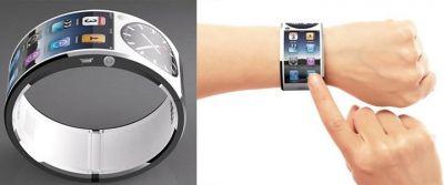 Гипкие часы Apple с экраном LG