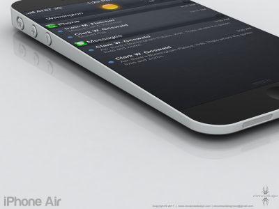 iPhone Air - новый концепт