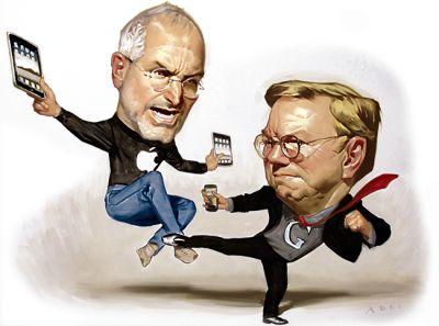 Новая книга открыла детали битвы Apple и Google при Джобсе
