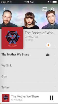 Google Play Музыка - для iPhone и iPad