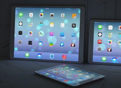 Большой-пребольшой 12,9-дюймовый iPad
