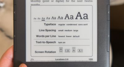 У Kindle будет высоко четкий экран