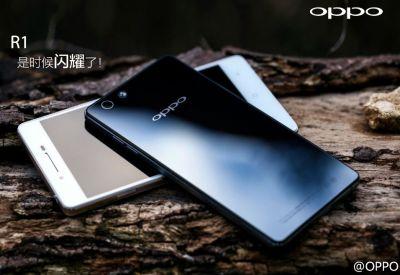 Новый смартфон Oppo R1
