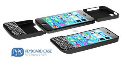 iPhone 5 как подобие Blackberry с QWERTY-клавиатурой