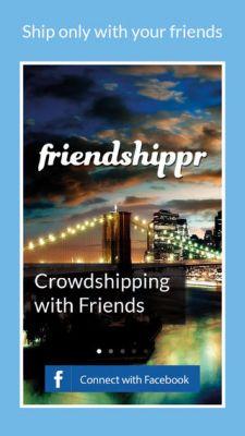 Friendshippr - друзья в роли курьеров