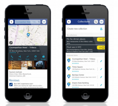 Nokia перекрыла карты Here для обладателей iPhone