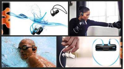 Водонепроницаемый MP3 плеер Sony