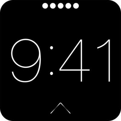iWatch: скриншоты интерфейса