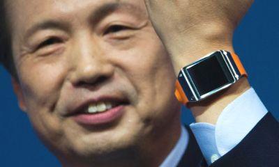 Новые умные часы от Samsung