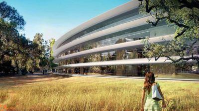 Дизайн нового кампус Apple, поняли не все.