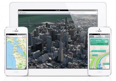 В Англии карты Apple популярнее Google Maps