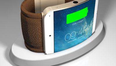 Apple оснастила iWatch меандрическим экраном
