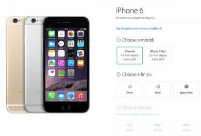 Предзаказ на iPhone 6 и iPhone 6 Plus