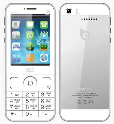 Китайский клон iPhone 5s (BQ Cupertino)