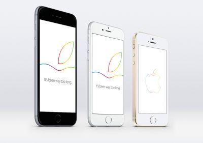 Скачать Retina-обои для iPhone в стиле пресс-конфренции 16 октября