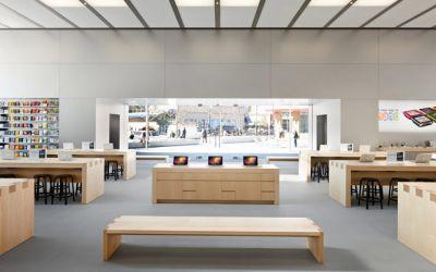 В Москве  открывается Apple Shop