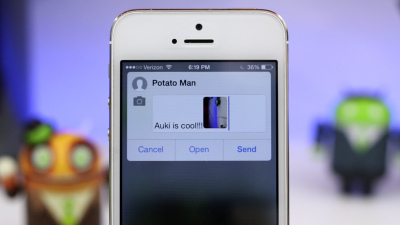 Твик Auki - позволяет быстро создавать SMS «в один клик»