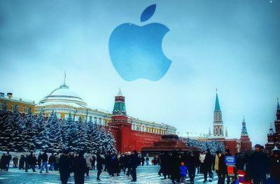 Apple теряет Россию