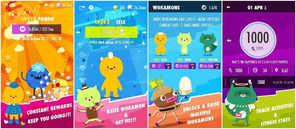Wokamon - Walking Games, Fitness Game, GPS Games