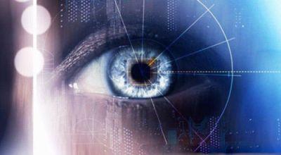 ViewSonic V55 - считывает радужную оболочку глаза