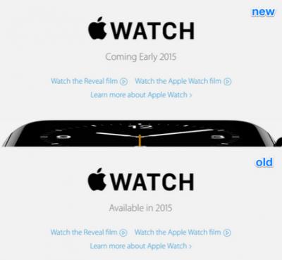 До выхода Apple Watch  остался месяц