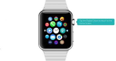 Интерактивный симулятор Apple Watch