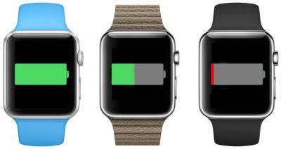 У Apple Watch маленькое время  автономной работы