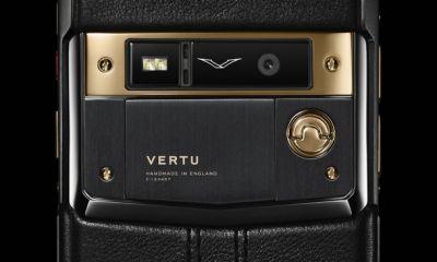 Vertu Pure Jet Red Gold смартфон люкс-класса