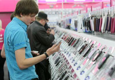 В России начали дешеветь мобильные устройства