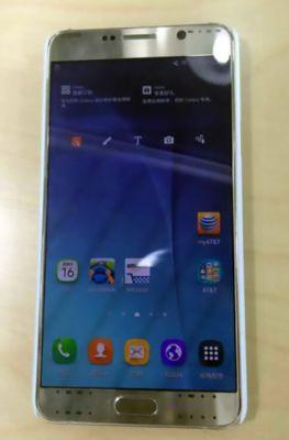 Фотографии прототипа Samsung Galaxy Note 5
