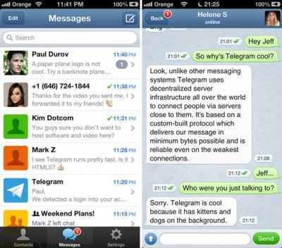 Порошенко пользуется мессенджером Telegram