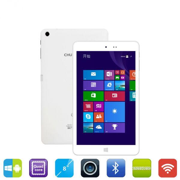 Chuwi Hi8 работает на Android KITKAT и Windows 10