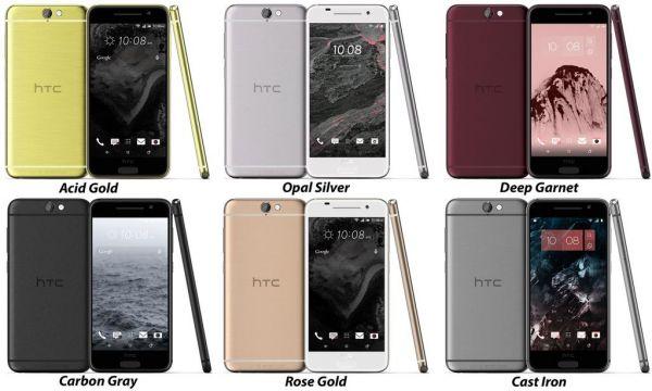HTC скопировала цвета у iPhone 6